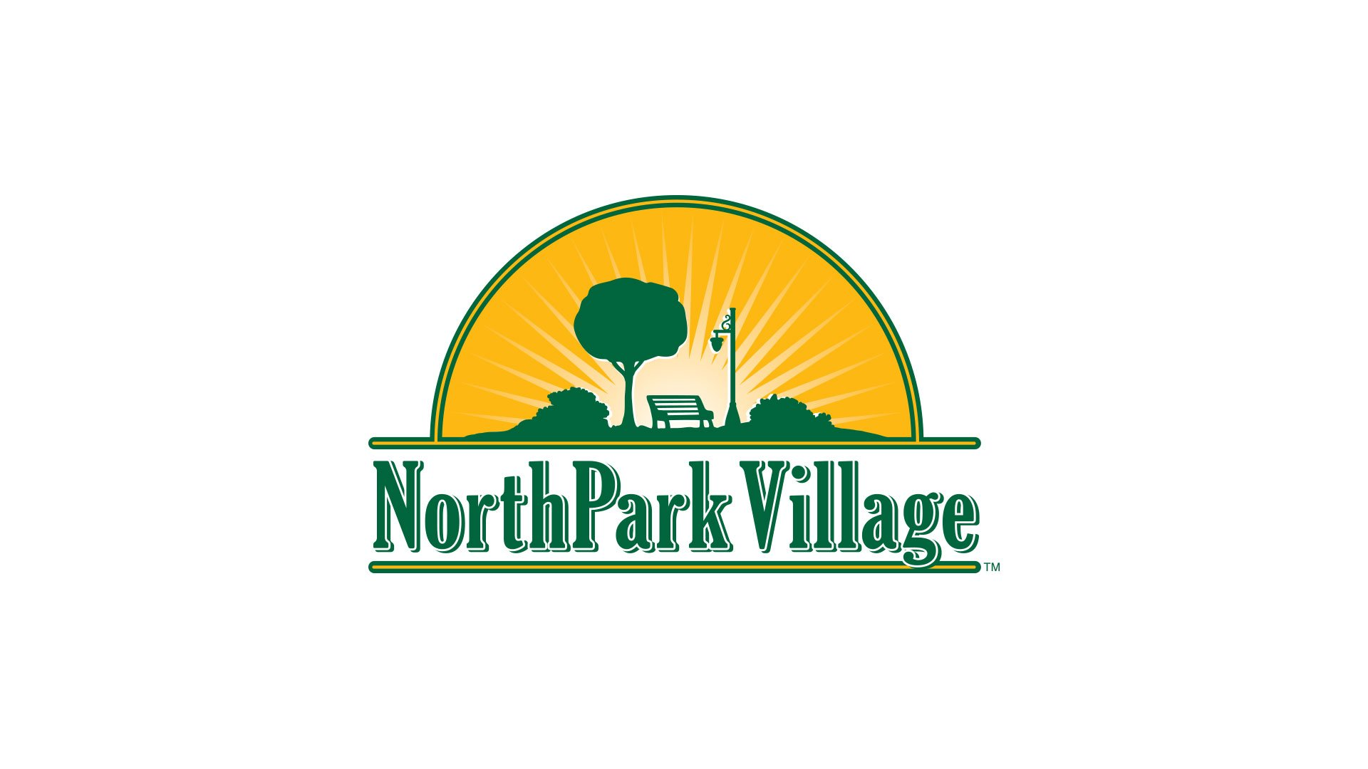 NorthPark Village Logo Design