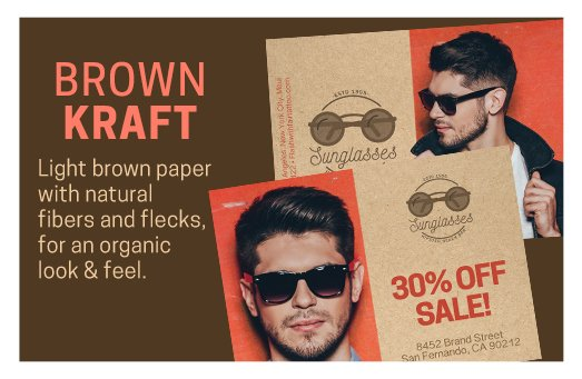 Brown Kraft Printing