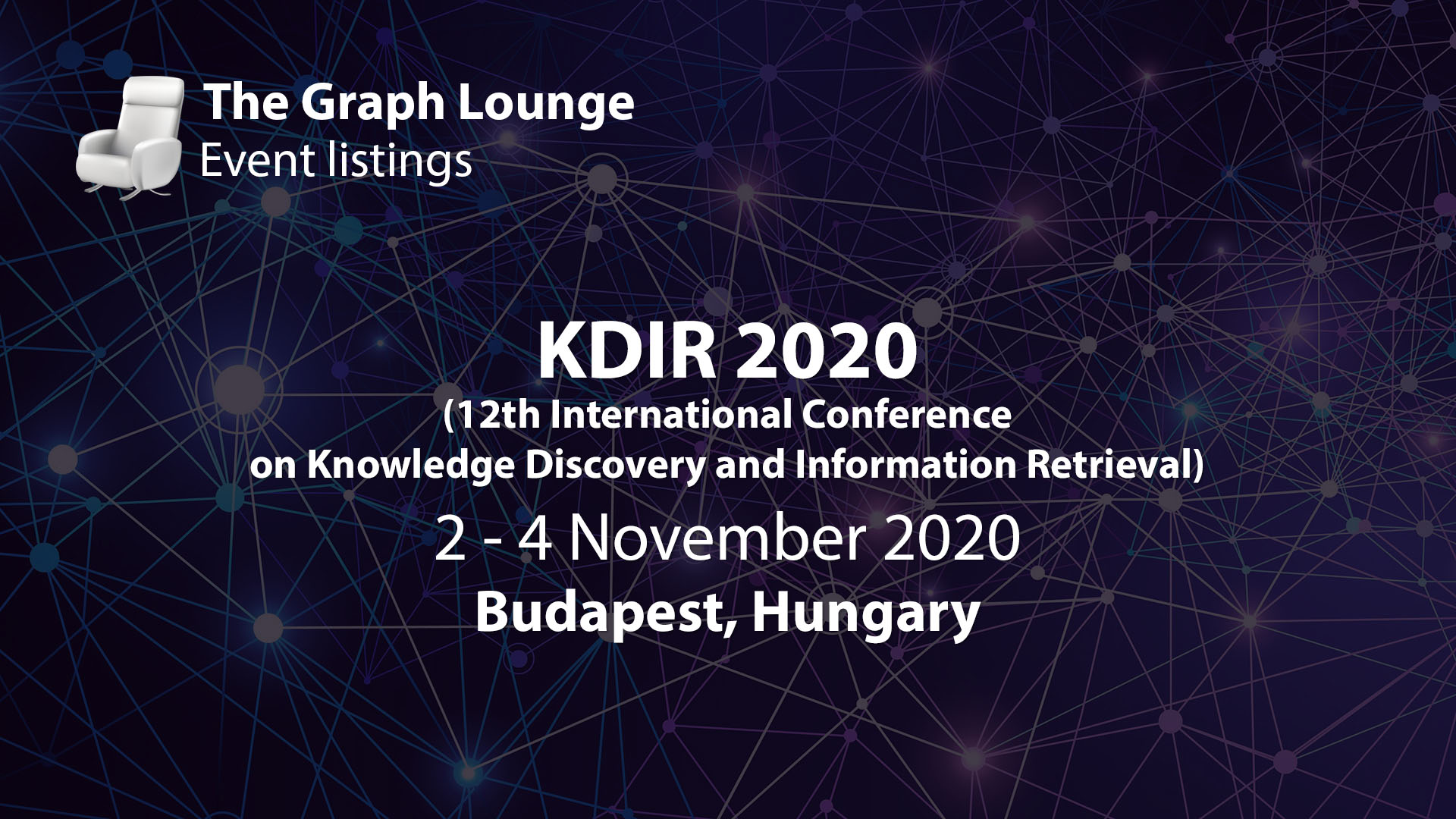 KDIR 2020 (12th International Conference on Knowledge Discovery and Information Retrieval)