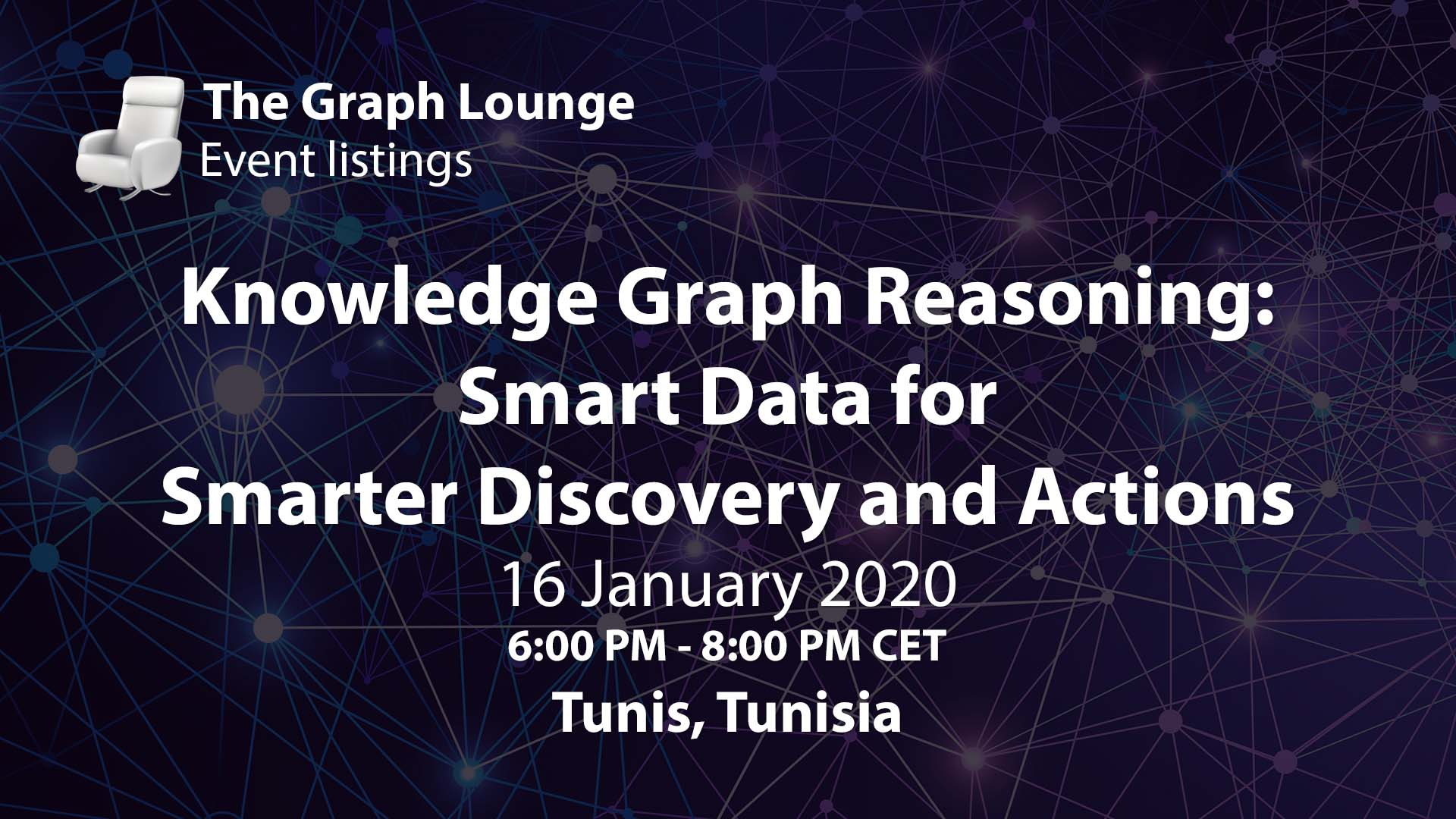 Knowledge Graph Reasoning: Smart Data for Smarter Discovery and Actions