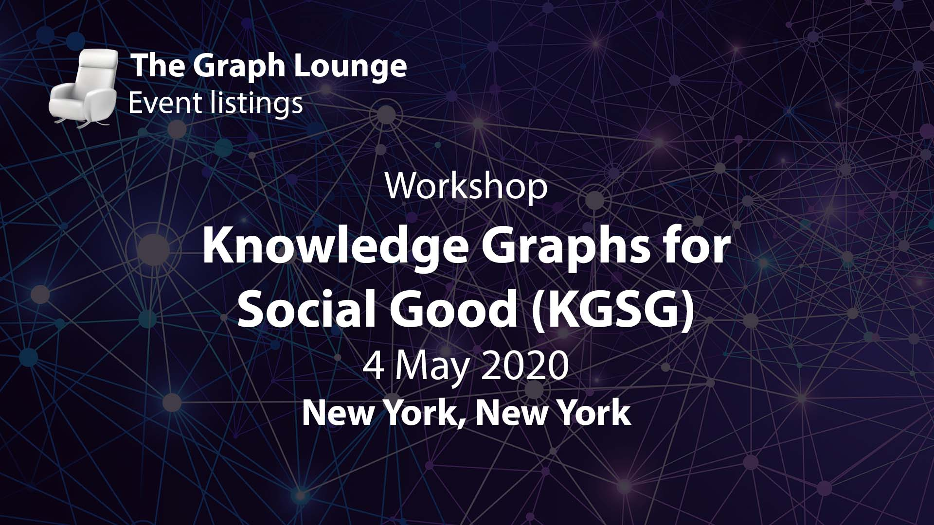 Knowledge Graphs for Social Good (KGSG)