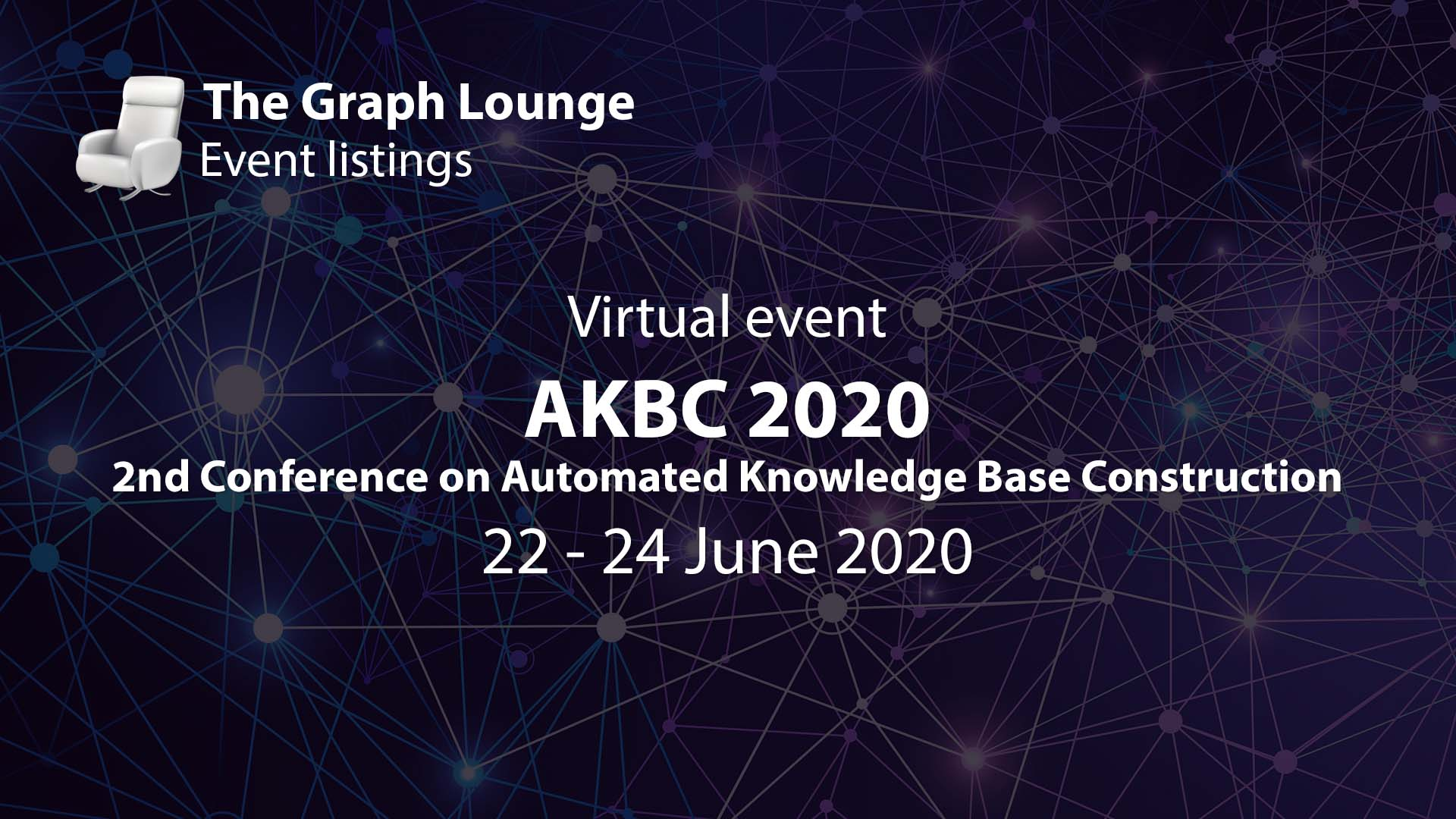 AKBC 2020 (2nd Conference on Automated Knowledge Base Construction)