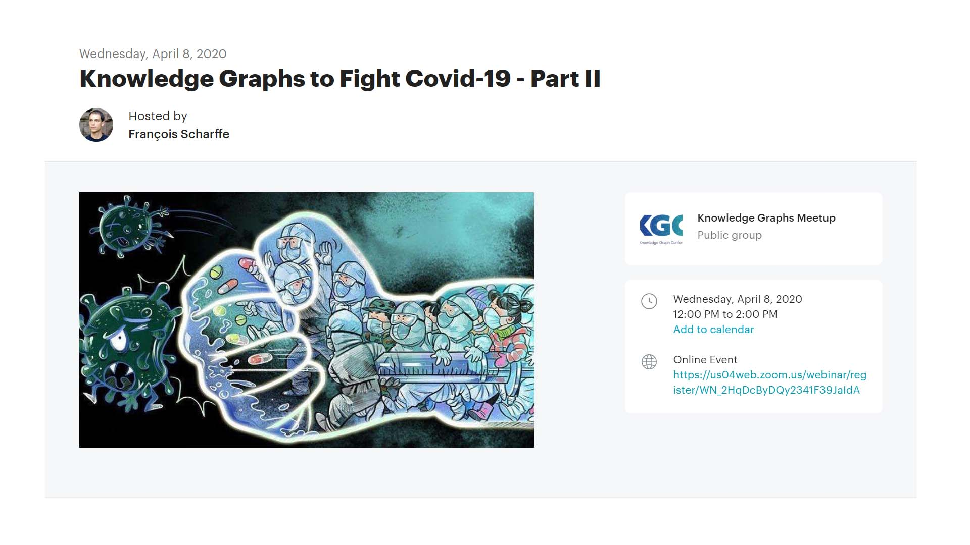 Knowledge Graphs to Fight COVID-19 - Part II