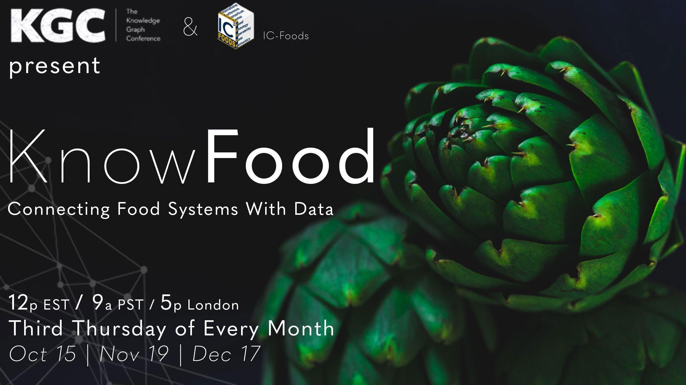 Know Food: Connecting Food Systems with Data