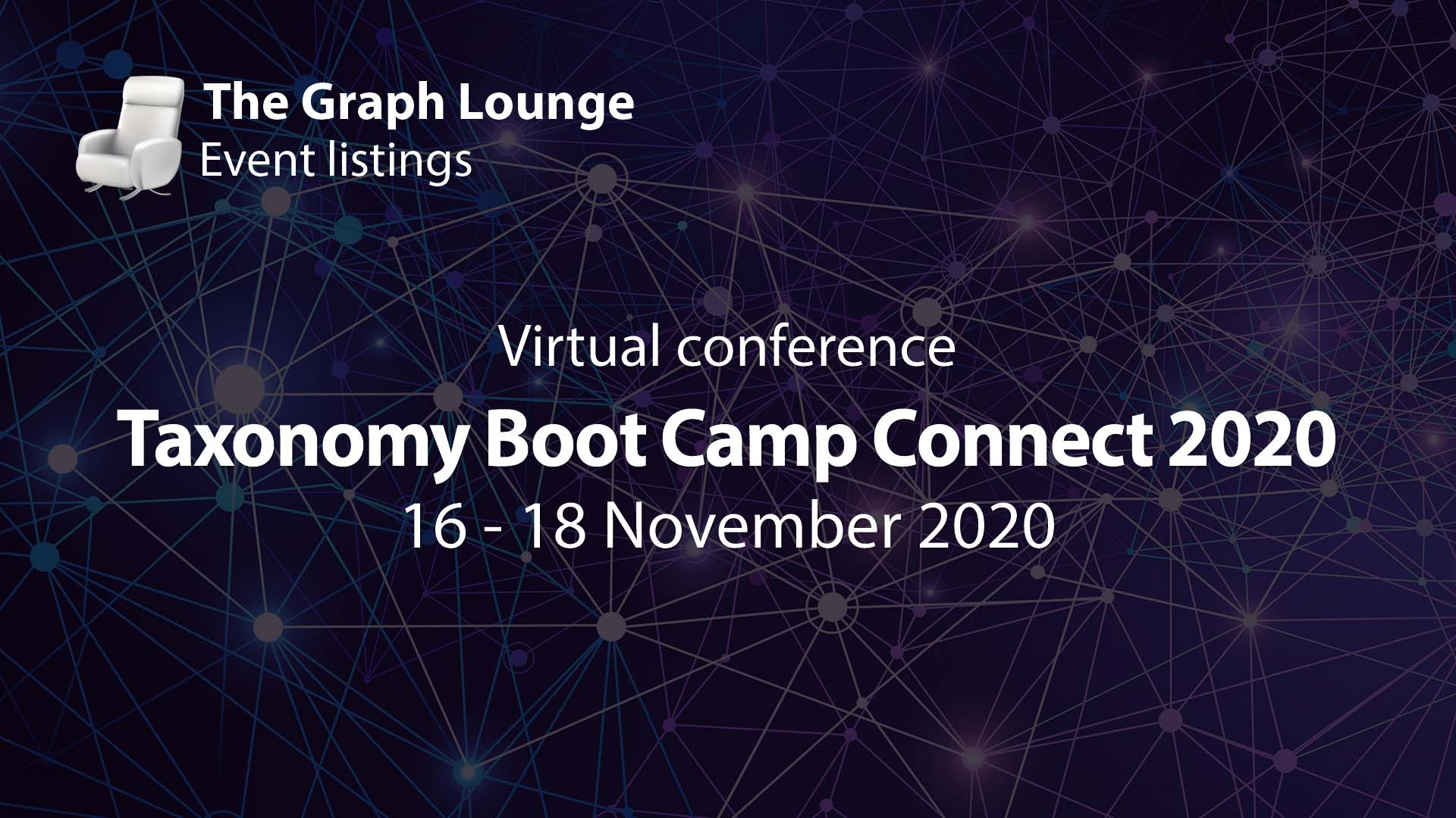 Taxonomy Boot Camp Connect 2020