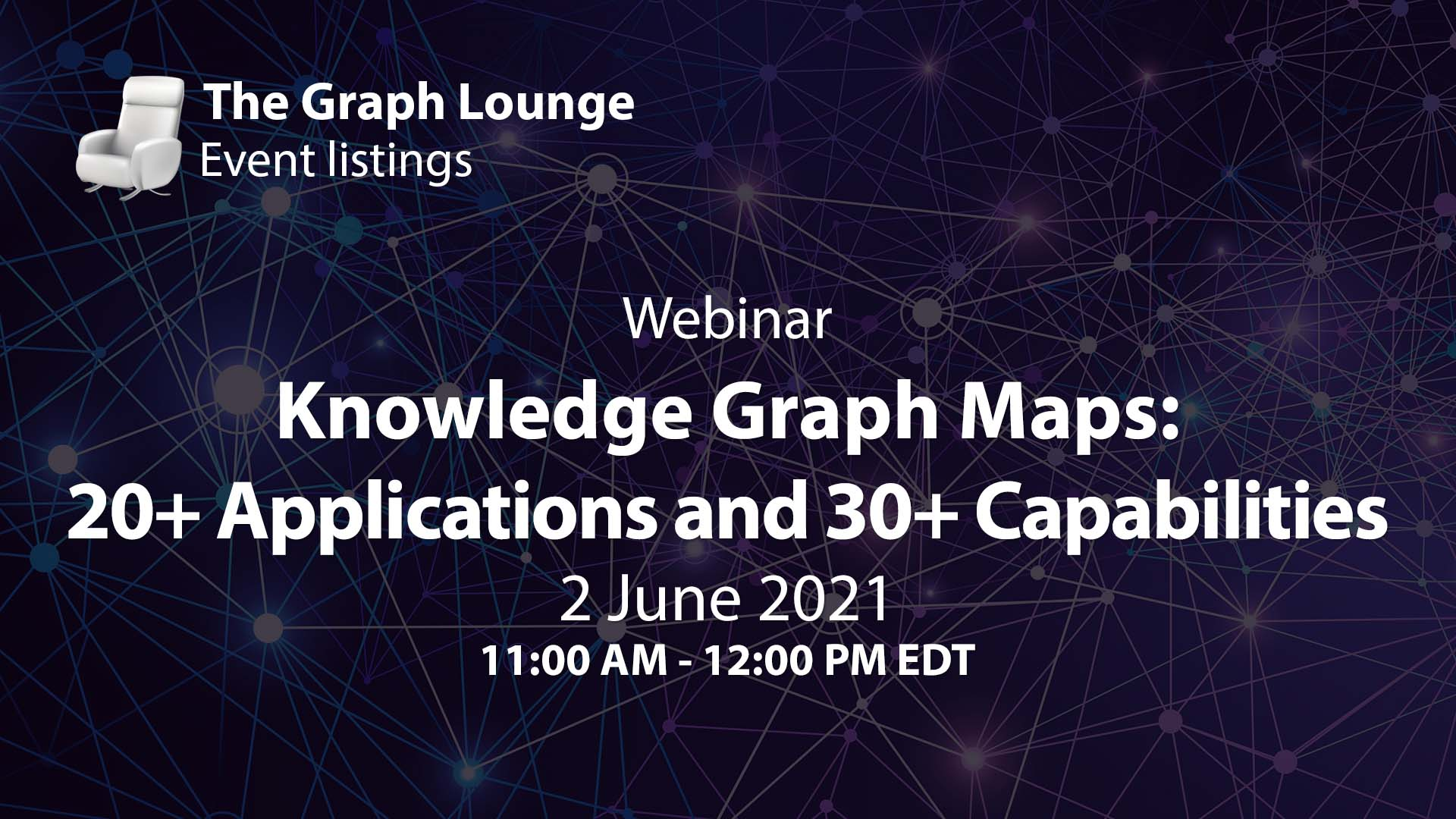 Knowledge Graph Maps: 20+ Applications and 30+ Capabilities
