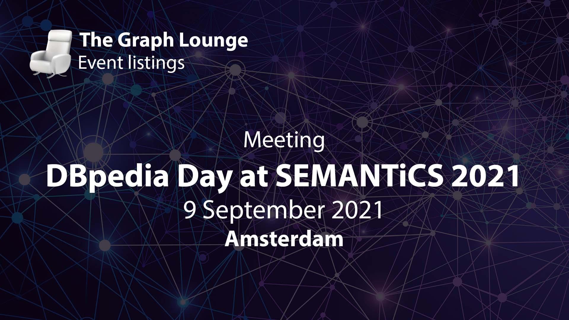 DBpedia Day at SEMANTiCS 2021