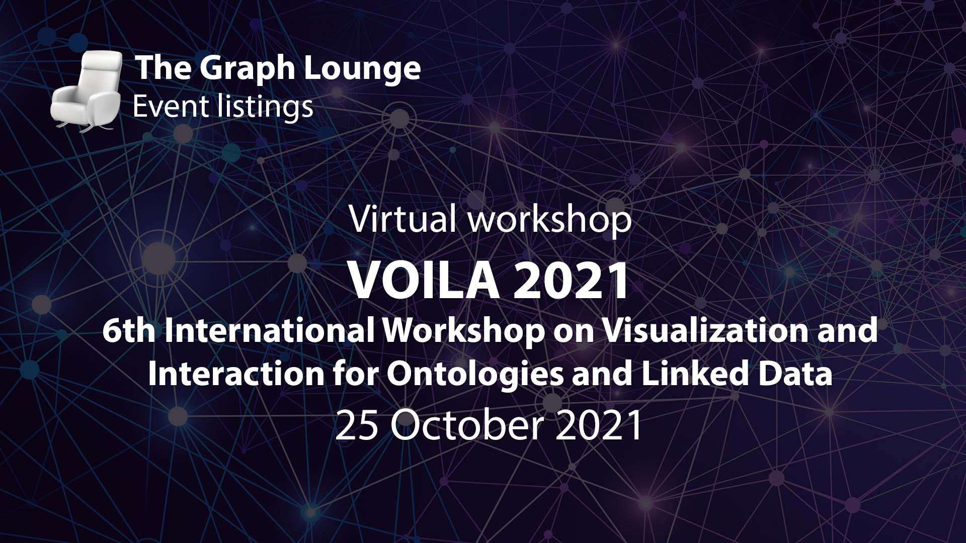 VOILA 2021 (6th International Workshop on Visualization and Interaction for Ontologies and Linked Data)