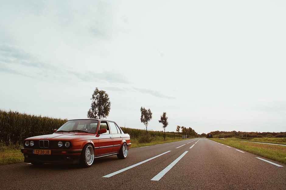 red sedan