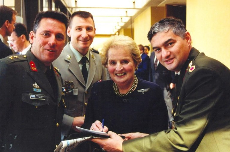 Madeleine Albright war criminal NATO Yugoslavia