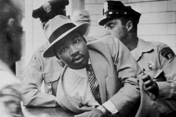 Martin Luther King Jr MLK arrest