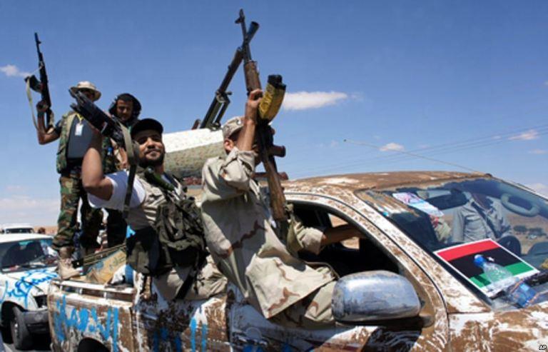 Libya rebels VOA