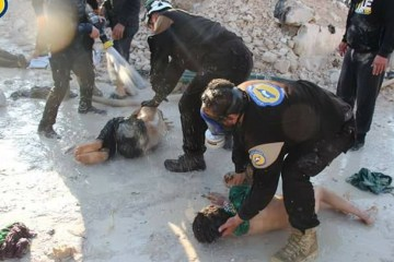 Syria White Helmets Khan Shaykhun chemical attack