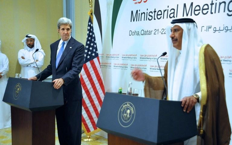 john kerry qatar prime minister