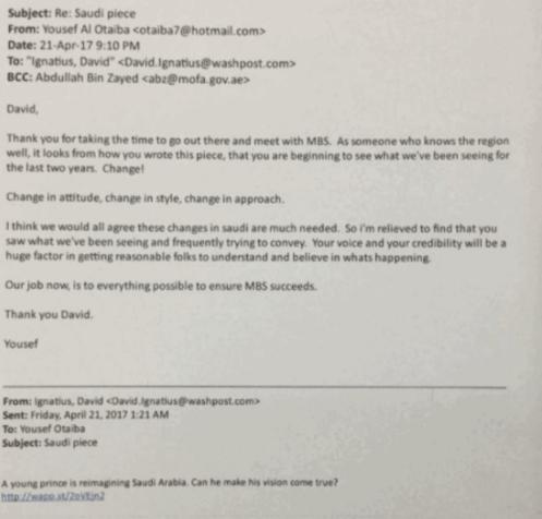 yousef al otaiba david ignatius email saudi uae