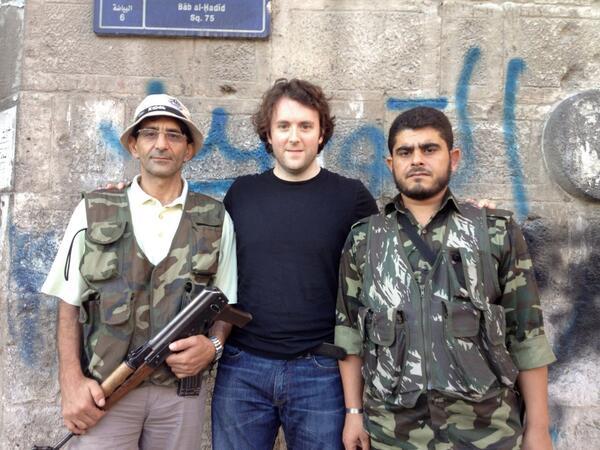 michael weiss jihadist rebels syria aleppo