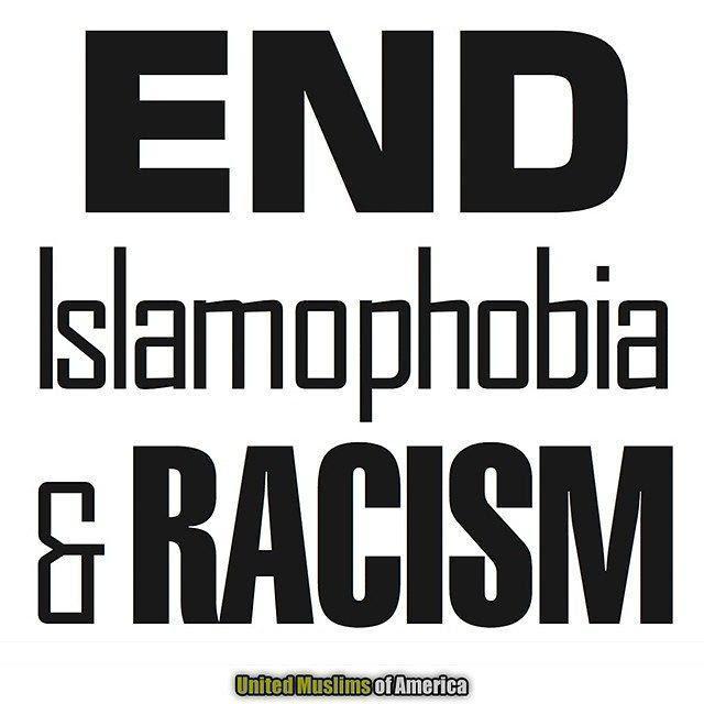united muslims end racism russian meme