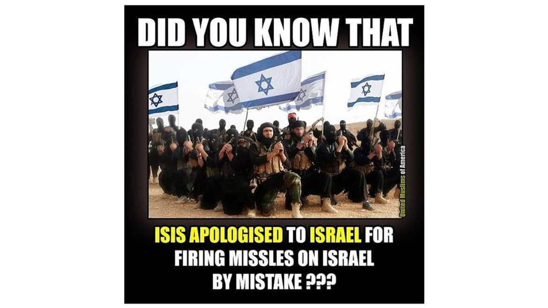 united muslims isis israel russian meme