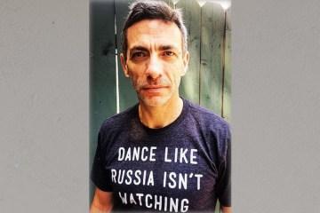 Clint Watts Russia shirt