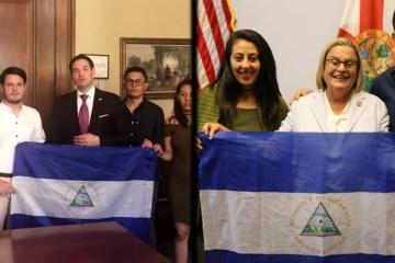 Nicaraguan student protesters Marco Rubio Washington DC