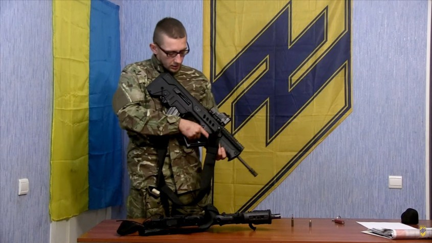 ukraine nazis israel weapons azov battalion