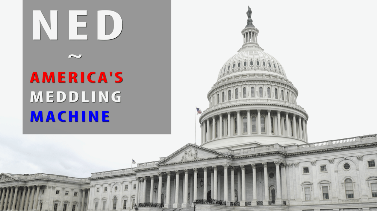 Inside America's meddling machine: NED, the US-funded org interfering in elections  around the globe   The Grayzone