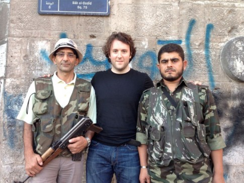 Michael Weiss Syrian rebels Aleppo