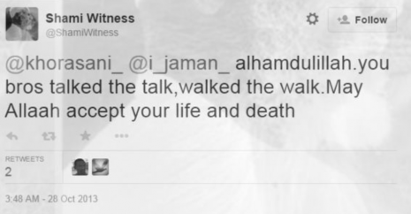 ShamiWitness walked the walk tweet