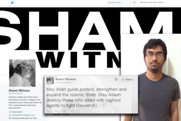 shamiwitness twitter ISIS