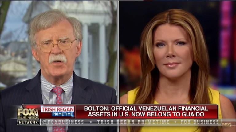 John Bolton Venezuela oil Fox Business