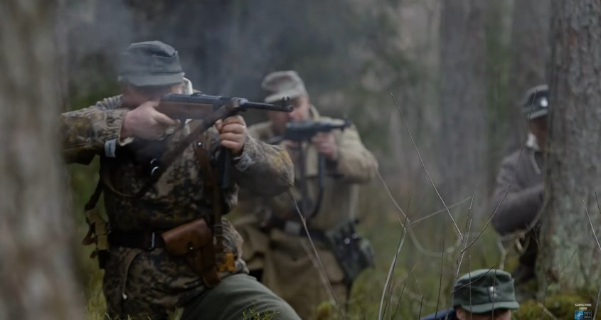 NATO Forest Brothers film Nazis