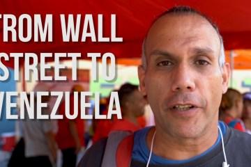 wall street banker venezuela