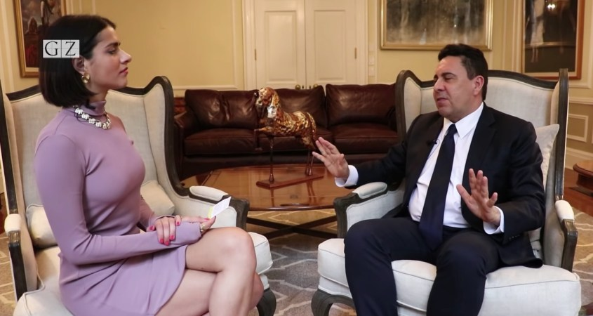Anya Parampil interview Samuel Moncada