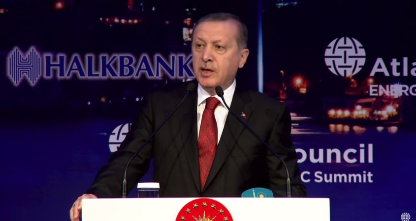 Atlantic Council Erdogan