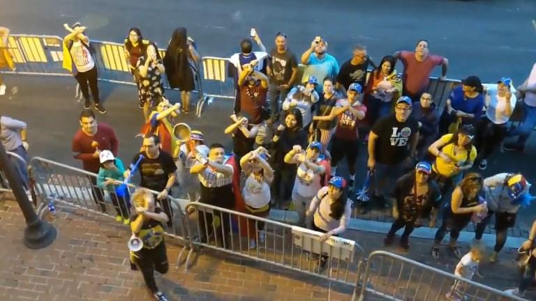 dc venezuelan embassy opposition protesters