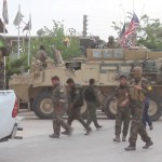 Hasakah YPG SDF US military