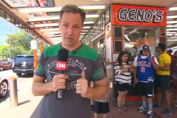 Jake Tapper Philadelphia football
