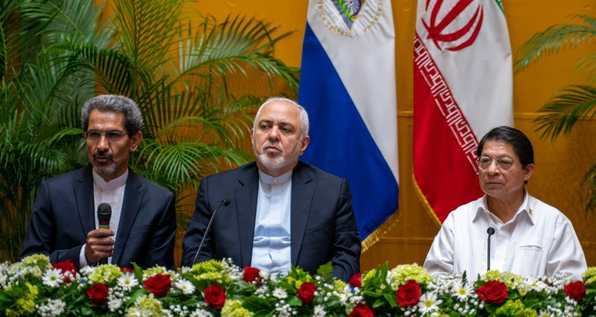 Iran Zarif Nicaragua US economic terrorism
