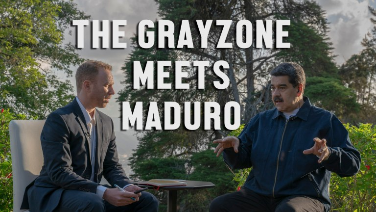 The Grayzone Nicolas Maduro interview