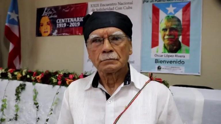 Oscar Lopez Rivera Venezuela