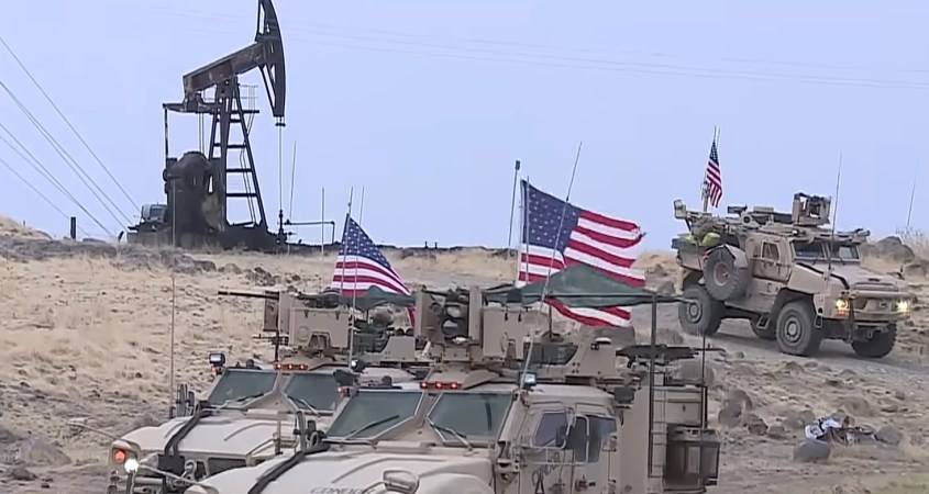 US troops Syria oil field