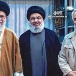 Khameinei Nasrallah Soleimani civilians