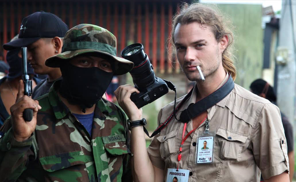 Carl David Goette Luciak Nicargua opposition coup