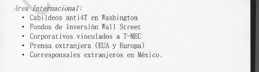 BOA AMLO Washington Wall Street T-MEC press