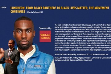 DeRay Mckesson Wells Fargo bank