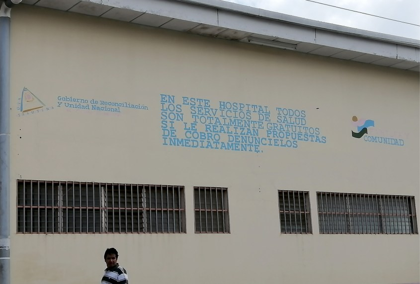 Nicaragua Jinotega hospital free healthcare