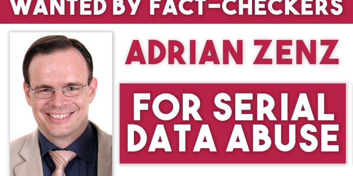 Adrian Zenz China propaganda false data
