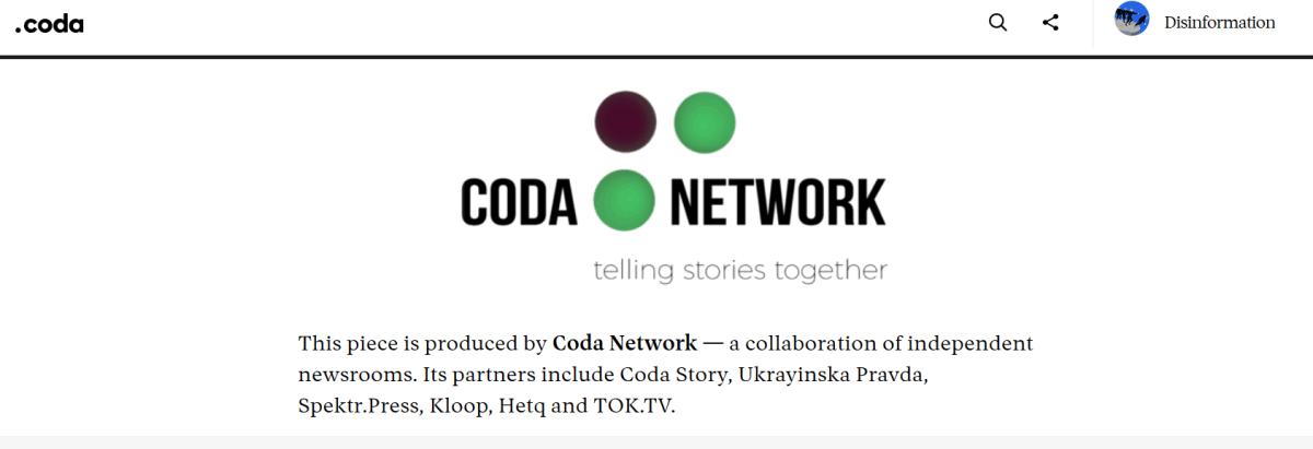 Coda Network Coda Story NED