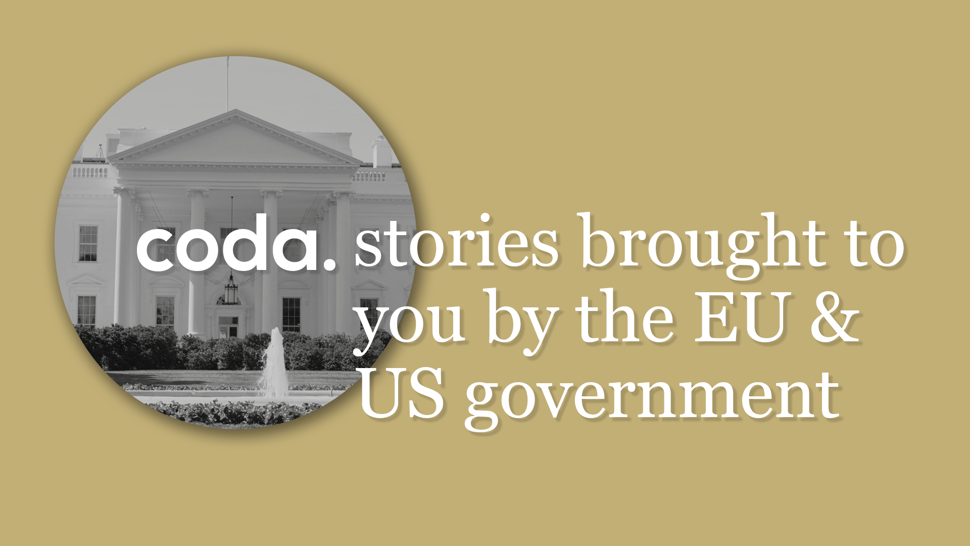 Coda Story NED US government EU neocon