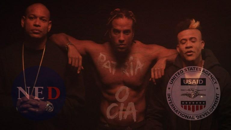 El rapero cubano NED USAID CIA